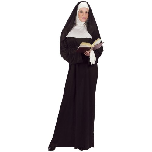 Mother Superior Costume - One Size - Dress Size 4-14