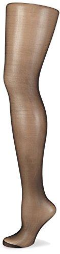 Nur Die Damen Strumpfhose Seidenfein, 15 DEN, Gr. 48 (Herstellergröße: 44-48=L), Schwarz (schwarz 94)