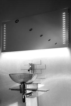 Ambient Shaver Led Bathroom Illuminated Mirror With Demister Pad & Sensor K7Sw
