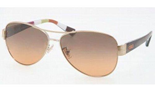 Image of Coach Sunglasses - Kristina / Frame: Orange Lens: Orange Grey Gradient