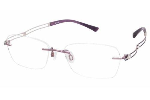 Charmant Line Art Women's Eyeglasses XL2050 XL/2050 PU Purple Optical Frame 51mm (Charmant Eyeglass Frames compare prices)
