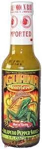 Hot Sauce Depot 60141010 Iguana Mean Green Jalapeno Pepper Sauce 5oz - Pack Of 3 from Hot Sauce Depot