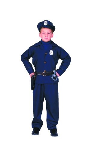 RG Costumes 90165-L Policeman Costume - Size Child-Large
