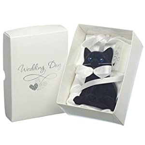 Lucky Black Cat Wedding Day Gift: Amazon.co.uk: Kitchen & Home