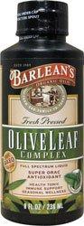 Barlean'S Olive Leaf Complex Peppermint 8Oz