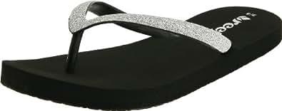 Reef Toddler Little Stargazer Flip Flop Black R2080BLA 6 UK