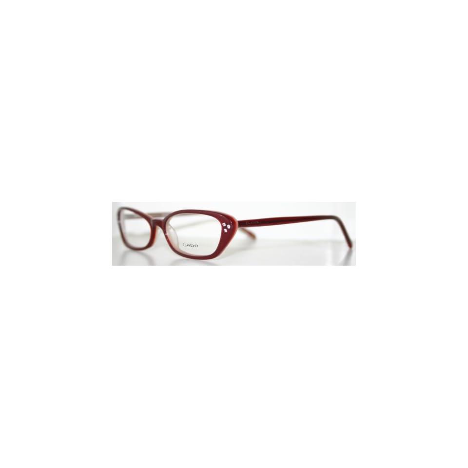 bfbc8e2ee223 BEBE Womens Eyeglass Frame GYPSY WINE on PopScreen