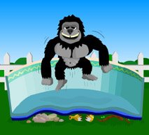 Gorilla Pad 15'x30' Oval (Above Ground Pool Liners 15x30 compare prices)