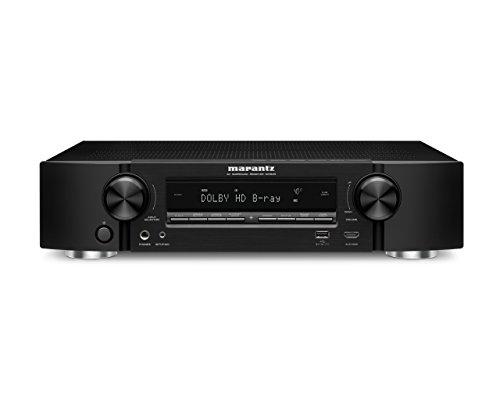 Marantz NR1605-R Refurbished 7.1 Slim Line 4K Ultra HD AV Receiver with Wi-Fi and Bluetooth
