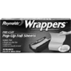Reynolds Wrappers Aluminum Foil(14inx10 1/4 in), 50 Sheets (Pop Up Foil Sheets compare prices)