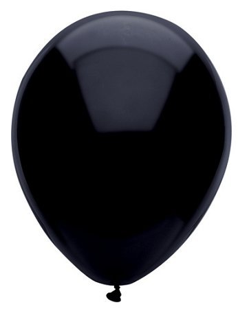 Pitch Black 12in Balloons 72ct