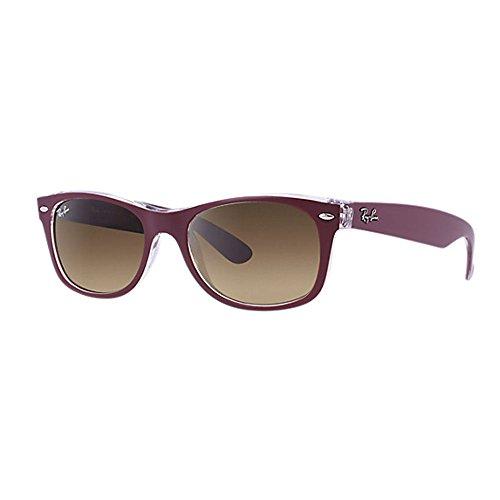 ray-ban-lunettes-de-soleil-rb2132-mod-2132-sole-90158-55-wayfarer-polarisee-55-mm-grenat-55