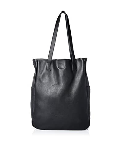 Alexander McQueen Men's Leather Tote, Black