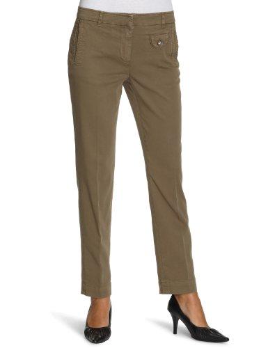 Henry Cottons Regular Fit-pantaloni Chino da donna Green IT 48
