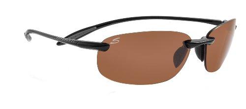 Serengeti Eyewear, Occhiali da sole Nuvino, Nero (Shiny Black), M