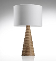 Conran Turned Pedestal Table Lamp