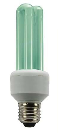 Vollmer Energiesparlampe grün E27 11 Watt 11W