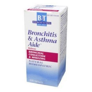 Boericke & Tafel Bronchitis And Asthma Aide -- 100 Tablets