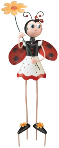 Regal Art & Gift 10015 Ladybug Girl Garden D cor, Large