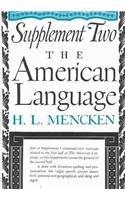 American Language Supplement 2 (American Language No. 1)