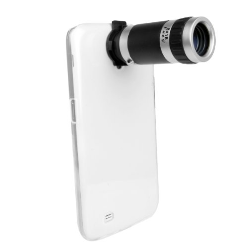 Xcsource® 8X Zoom Telephoto Lens + Protective Back Case For Samsung Galaxy Mega 6.3 I9200 Dc419