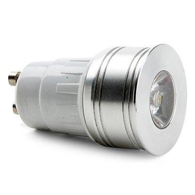 Gu10 1W 100-150Lm 3000-3500K Warm White Light Led Spot Bulb (85-265V)