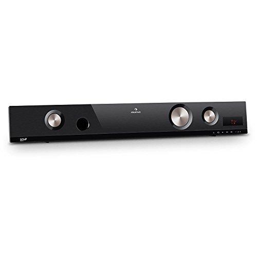 auna Areal Bar 451 - Barre de son 2.1 Bluetooth avec entrée AUX (bassreflex, technologie SRS WOW HD, 50W RMS)