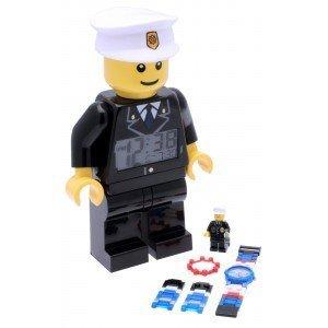 LEGO® City Polizei Wecker und Armbanduhr Bündel