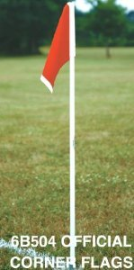 Kwik Goal 6B504 Official Corner Flags (Call 1-800-234-2775 to order)
