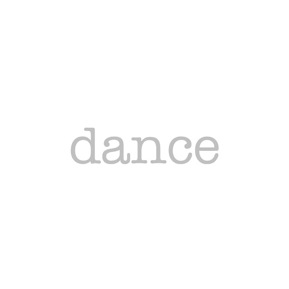 dance Giant Word Wall Sticker