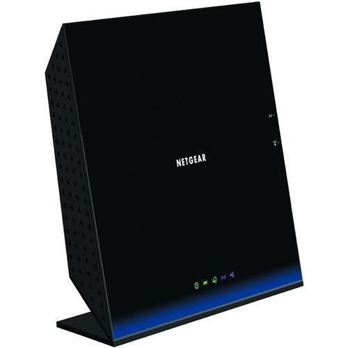 Netgear D6200 IEEE 802.11ac Modem/Wireless Router - 2.40 GHz ISM Band - 5 GHz UNII Band - 1167 Mbps Wireless Speed - 4 x Network Port - 1 x Broadband Port - USB - Gigabit Ethernet Desktop D6200-100NAS image