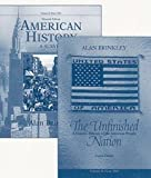 img - for Distance Learning Study Guide for The Unfinished Nation (from 1865) (V2) book / textbook / text book