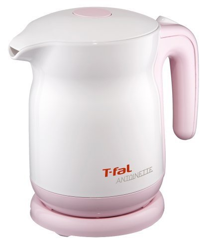 T-Fal [One Push Safety Lid Recruiting] Electric Kettle Antoinette Sugar Pink 0.8L Ko320173 By T-Fal