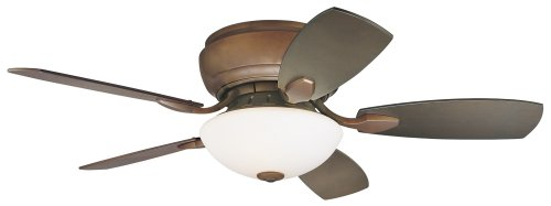 "44"" Casa Habitat? Oil-Rubbed Bronze Hugger Ceiling Fan"