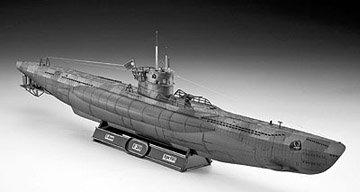 Revell 1:144 Deutsches U Boot Typ VII C