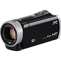 JVC GZEX310BUSM 2.5 Megapixel 1080p HD Wi-Fi Everio(R) GZEX310BUS Digital Video Camera (Black) from JVC