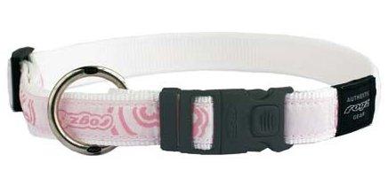 Rogz Fancy Dress Armed Response Dog Collar XL Ice Cream Bone Pink