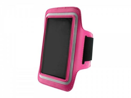 Lg Optimus L70 Neoprene Sports Arm Band Pink