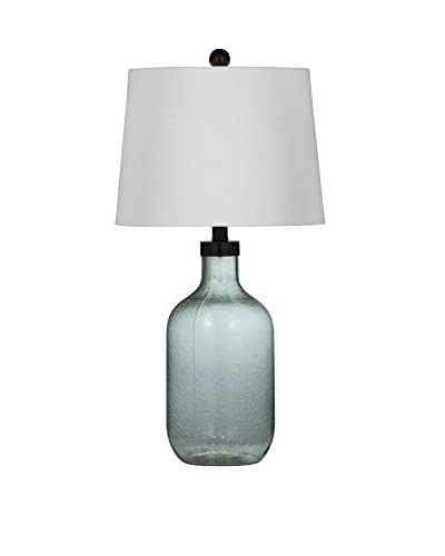 Bassett Mirror Co. Sevanna 1-Light Table Lamp, Blue