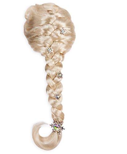 Authentic Disney Frozen Princess Elsa Girls Snowflake Halloween Costume Wig