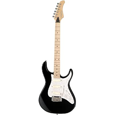 Fernandes Retrorocket Deluxe DG Electric Guitar - Black