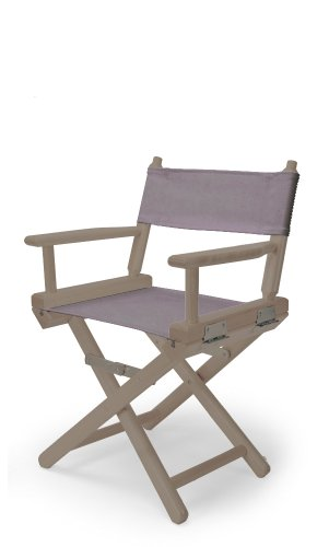Telescope Casual Child'S Director Chair, Rustic Grey With Grey Canvas Fabric