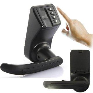 easyshop ADEL LS-9 biometrische Fingerprint Door Lock elektronische schlüssellose Passwort Lock schwarz online bestellen