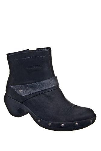 Merrell Luxe Mid Low Heel Bootie