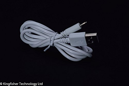 kingfisher-technology-90cm-usb-5v-2a-pc-white-charger-power-cable-lead-adaptor-22awg-for-argos-bush-