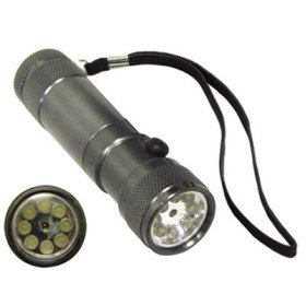 8 LED Plus Laser Pointer Flashlight8 LED Plus Laser Pointer Flashlight
