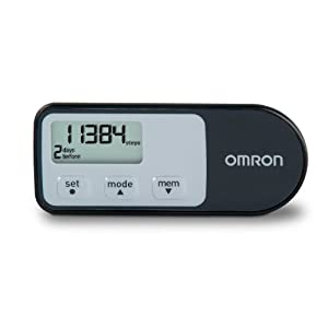 Omron HJ-321 Tri-Axis Pedometer, Black reviews on Amazon, best buy