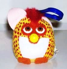 McDonalds Happy meal Furby Diamondback Snake #12 Plush w/Clip On 2000