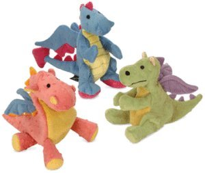 Sherpa Go Dog Baby Dragon Set Of 3 Large Size Coral