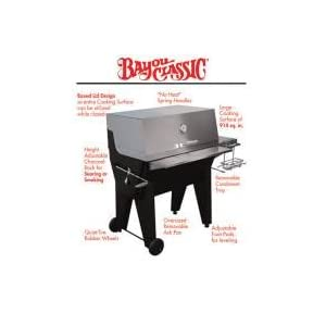 Patio Classic 6000 Series Charcoal Grill W/ Black Lid